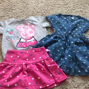 Peppa Pig 3T Lot Excellent Condition